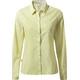 Craghoppers NosiLife Shona - T-shirt manches longues Femme - jaune